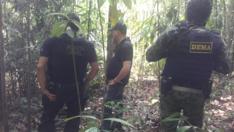 AÇÃO POLICIAL DE COMBATE A CRIMES AMBIENTAIS