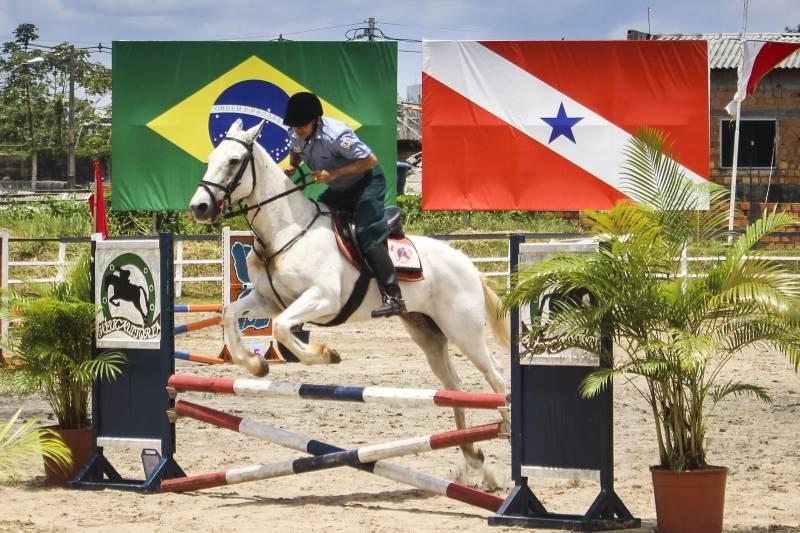 """O Concurso Hípico """"Coronel Fontoura"""" é uma das tradições da Polícia Militar do Pará Foto: Ascom PMPA"""