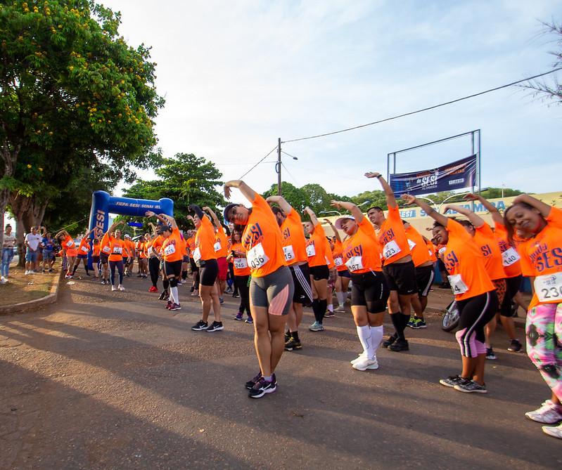 Corrida do Sesi reúne mais de 200 corredores em Altamira