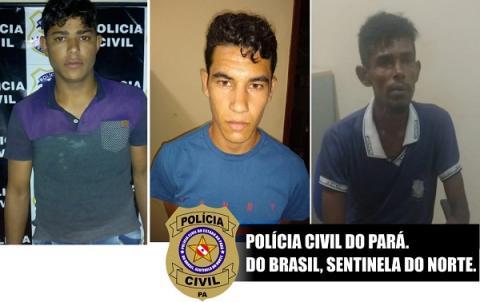 Polícia Civil prende acusados apontados no crime de latrocínio no município de Placas