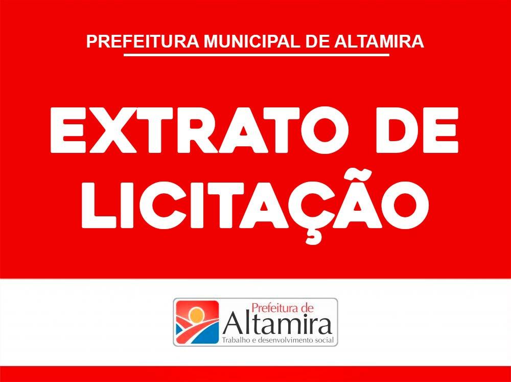 EXTRATO DA ATA DE REGISTRO DE PREÇOS