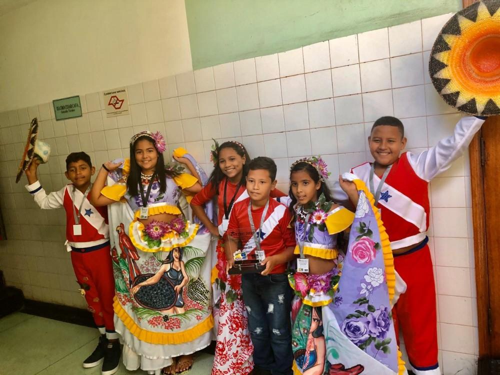Alunos da rede municipal de ensino de Altamira representam município em concurso em SP