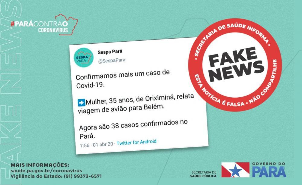 Não acredite e nem repasse Fake News
