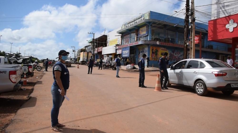 Fiscalizações são intensificadas quanto ao uso obrigatório de máscara em todo território de Pacajá