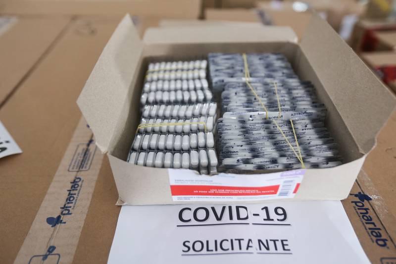 Remédios para tratamento da Covid-19 são distribuídos aos 144 municípios do Pará