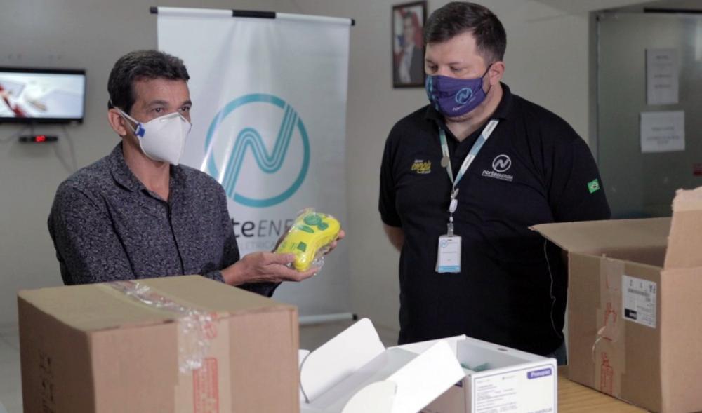 Norte Energia entrega respiradores móveis à SESPA