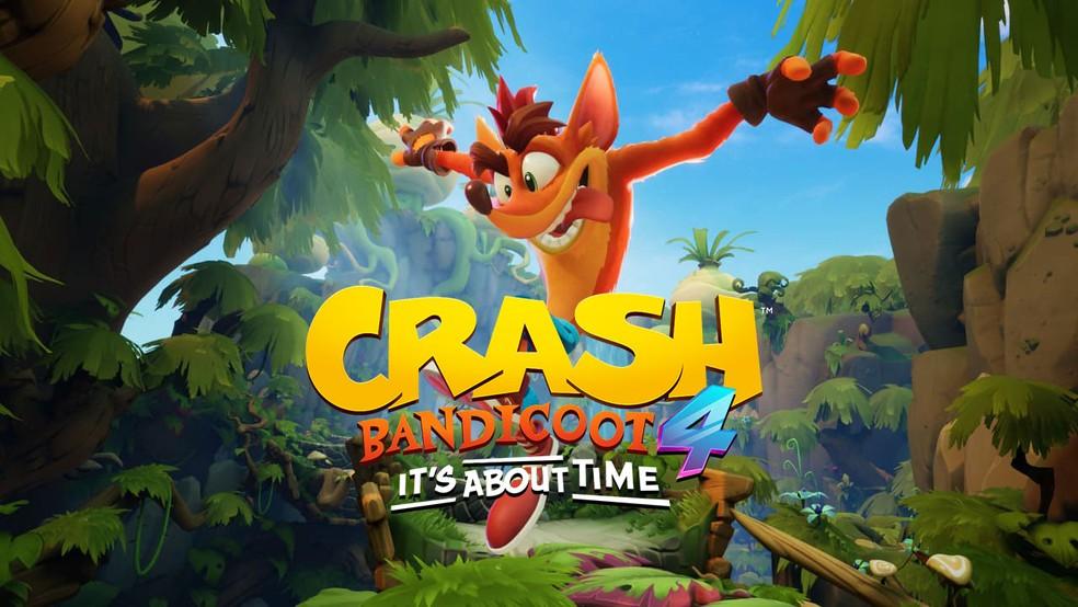 Crash Bandicoot 4: It's About Time, chega em outubro de 2020