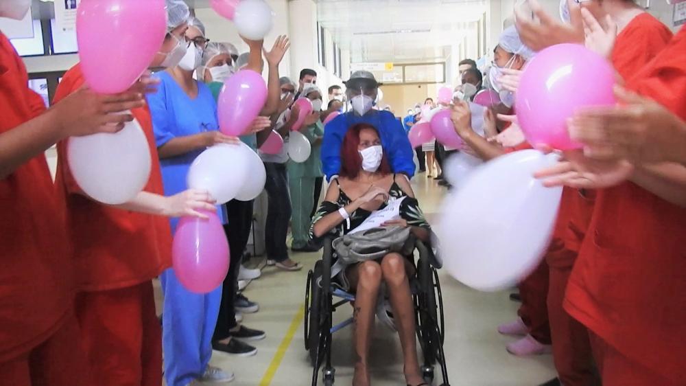 Saída paciente - Bruna Maria Vilena - 31 anos - UTI