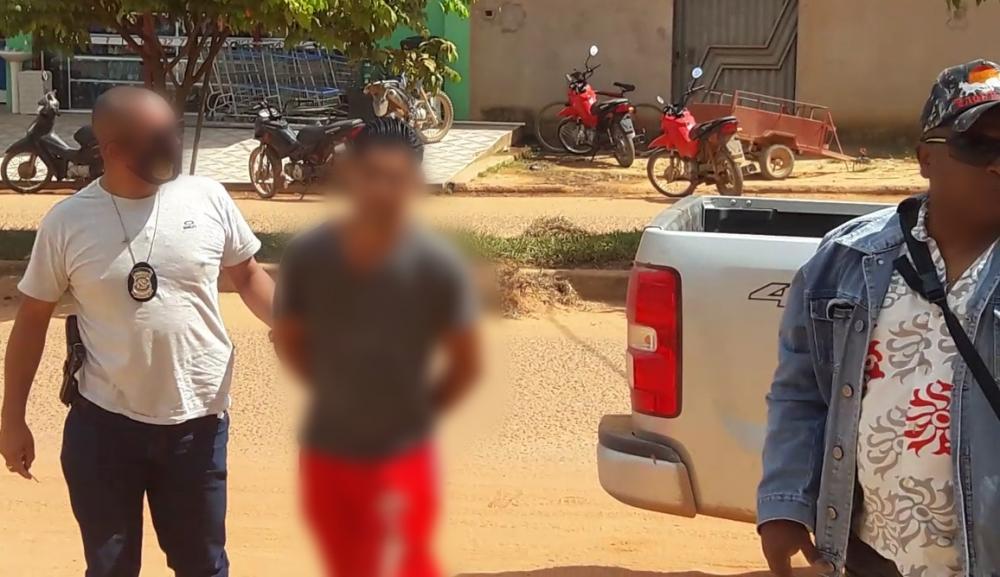 Homem é preso acusado de estuprar a enteada de 5 anos de idade