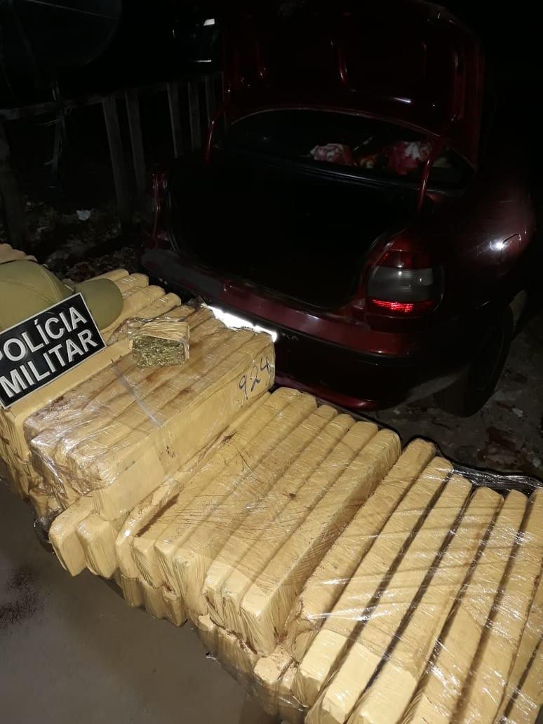 115º Posto Policial apreende drogas no sul do Pará