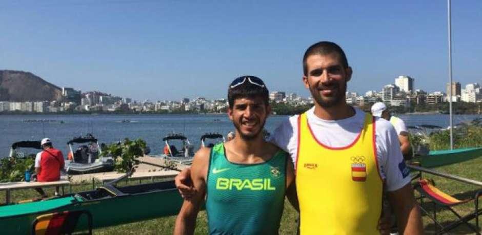 Após os Jogos Olímpicos de 2016, Pau Vela Maggi passou a defender o Brasil, no remo. (Reprodução) Foto: Lance!