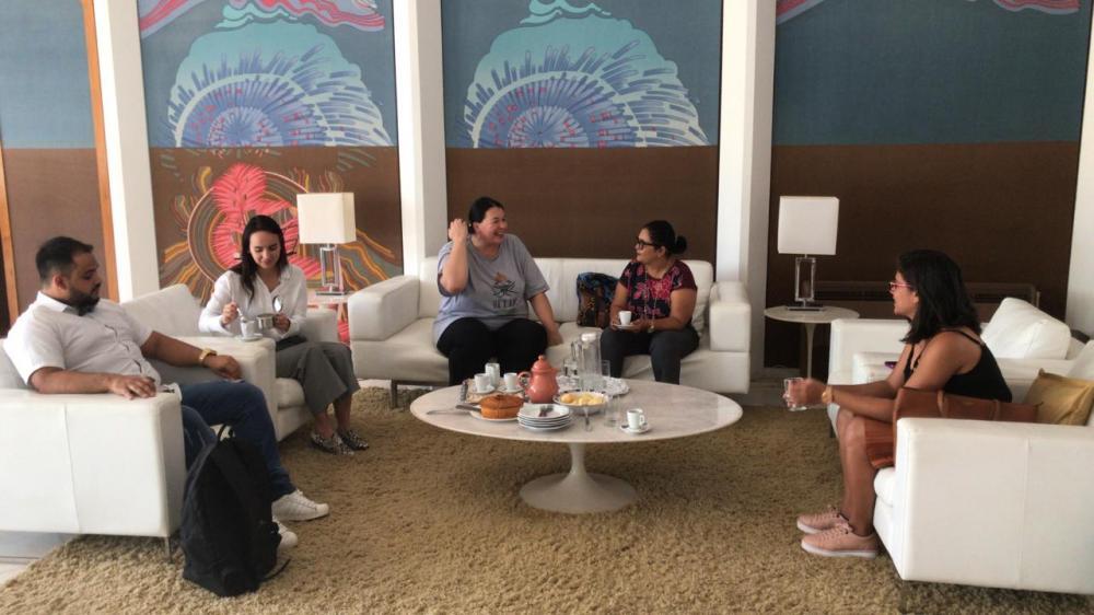 Reunião na Embaixada da Áustria - Foto: David Alves