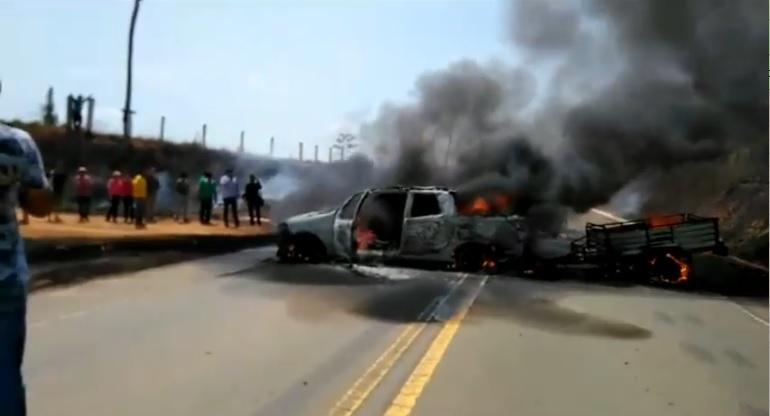 Uma pessoa morre após sofrer grave acidente na br230 próximo ao Distrito de Maracajá