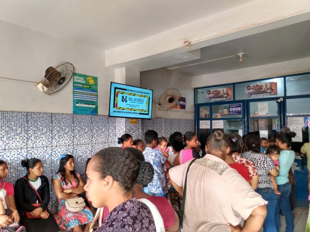 Moradores reclamam do serviço prestado pela lotérica em Pacajá