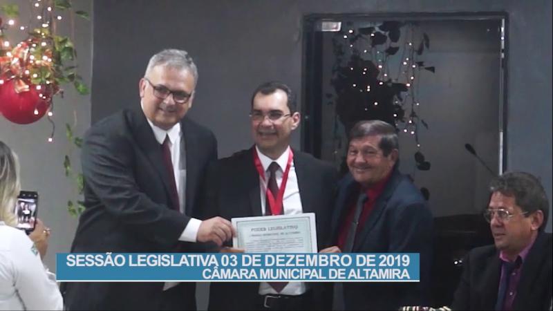 Informe Legislativo: Sessão Ordinária do dia 03 de dezembro de 2019